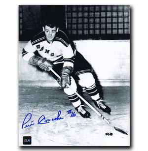 Pete Conacher New York Rangers Autographed 8x10 Photo - CoJo Sport Collectables Inc.