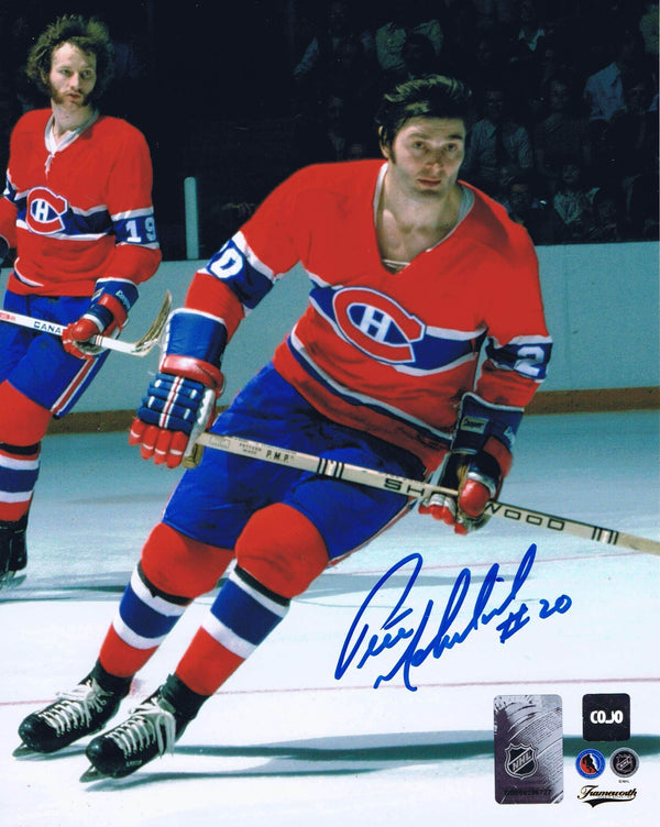 Pete Mahovlich Montreal Canadiens Autographed 8x10 Photo - CoJo Sport Collectables Inc.