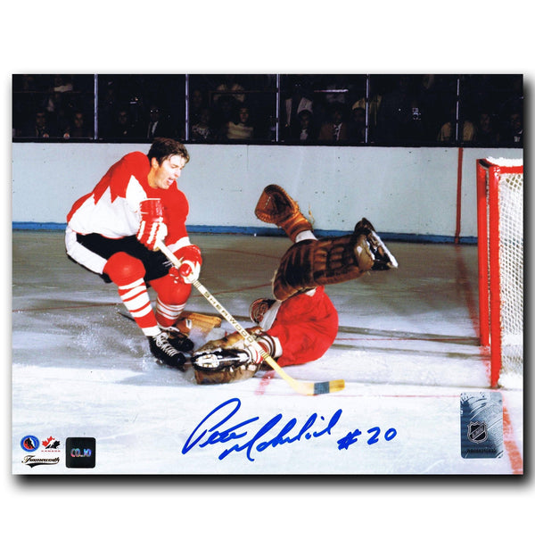 Pete Mahovlich Team Canada Autographed 8x10 Photo Autographed Hockey 8x10 Photos CoJo Sport Collectables