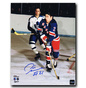 Pete Stemkowski New York Rangers Autographed 8x10 Photo - CoJo Sport Collectables Inc.