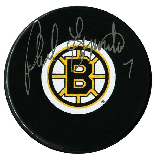 Phil Esposito Autographed Boston Bruins Puck - CoJo Sport Collectables Inc.