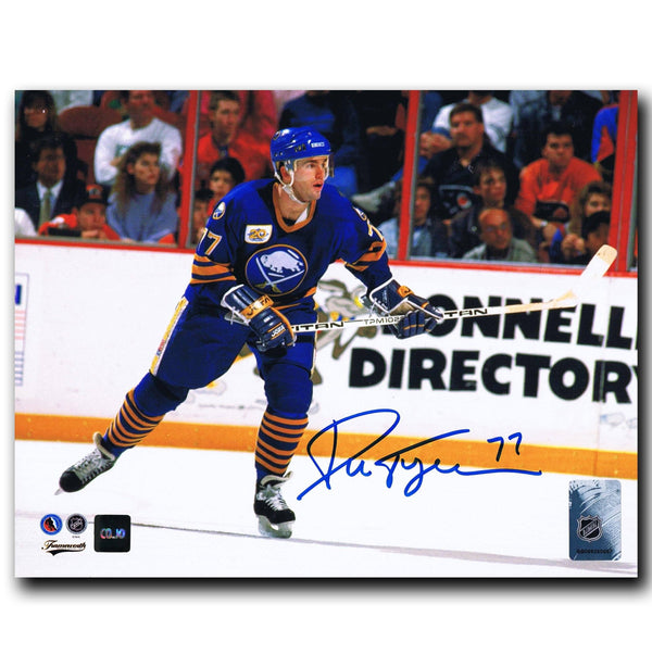 Pierre Turgeon Buffalo Sabres Autographed 8x10 Photo - CoJo Sport Collectables Inc.