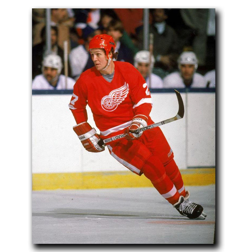 (Pre-Order) Darryl Sittler Detroit Red Wings Autographed 8x10 Photo