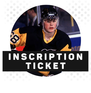 (Pre-Order) Jaromir Jagr Autograph Inscription Ticket