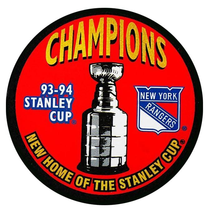(Pre-Order) Mike Richter Autographed New York Rangers 1994 Stanley Cup Puck