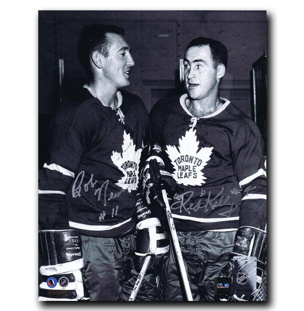 Red Kelly and Bob Nevin Toronto Maple Leafs Dual Autographed 8x10 Photo - CoJo Sport Collectables Inc.
