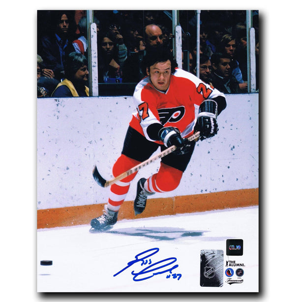 Reggie Leach Philadelphia Flyers Autographed 8x10 Photo - CoJo Sport Collectables Inc.