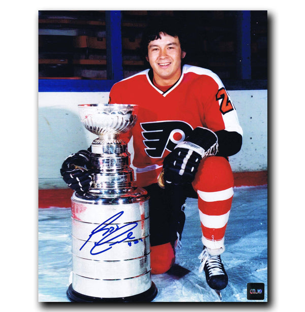 Reggie Leach Philadelphia Flyers Autographed Stanley Cup 8x10 Photo - CoJo Sport Collectables Inc.