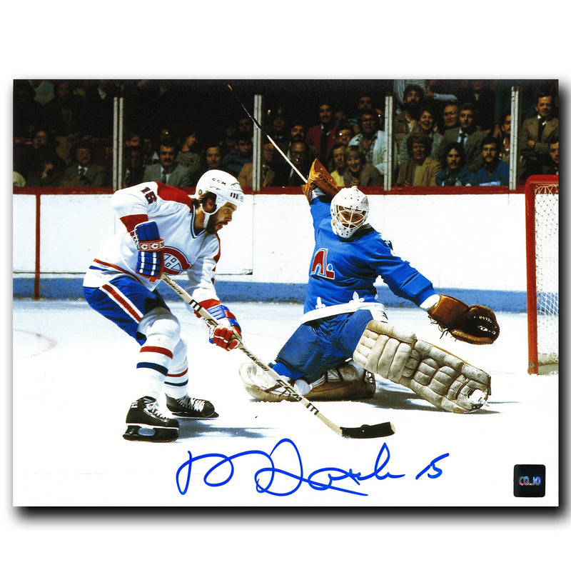 Rejean Houle Montreal Canadiens Autographed Breakaway 8x10 Photo CoJo Sport Collectables Inc.