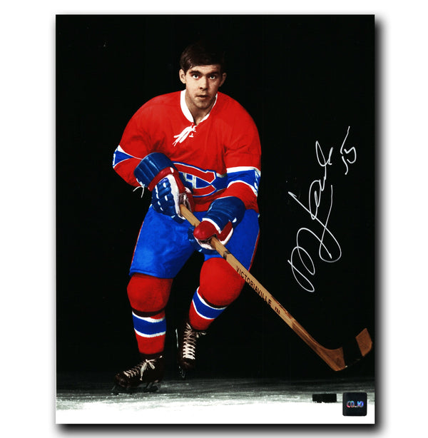 Rejean Houle Montreal Canadiens Autographed Spotlight 8x10 Photo - CoJo Sport Collectables Inc.