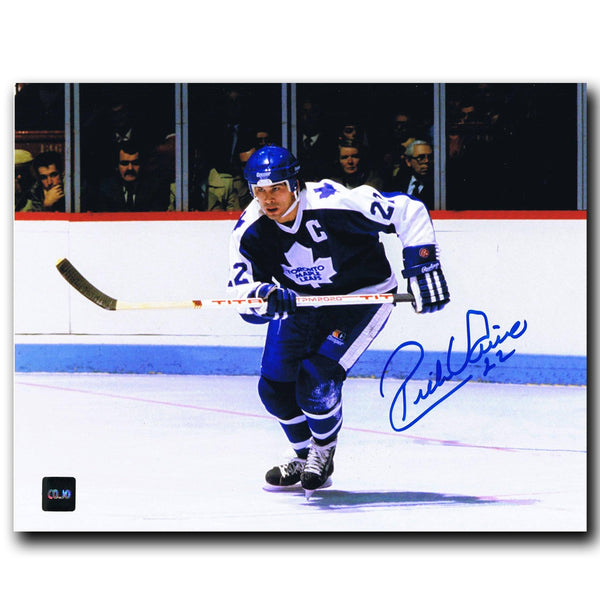 Rick Vaive Toronto Maple Leafs Autographed 8x10 Photo Autographed Hockey 8x10 Photos CoJo Sport Collectables