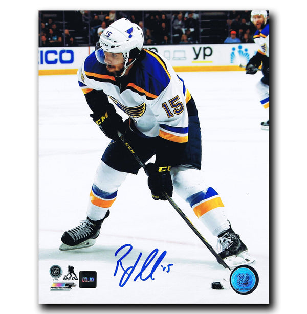 Robby Fabbri St. Louis Blues Autographed 8x10 Photo Autographed Hockey 8x10 Photos CoJo Sport Collectables