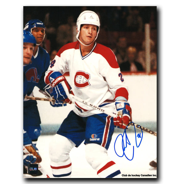 Robert Picard Montreal Canadiens Autographed 8x10 Photo