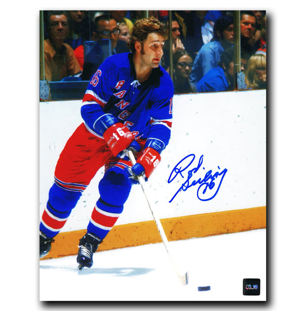 Rod Seiling New York Rangers Autographed 8x10 Photo - CoJo Sport Collectables Inc.