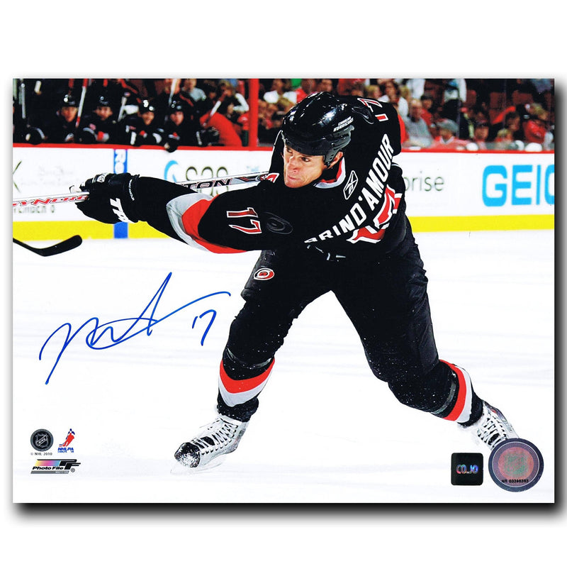 Rod Brind'Amour Carolina Hurricanes Autographed 8x10 Photo CoJo Sport Collectables