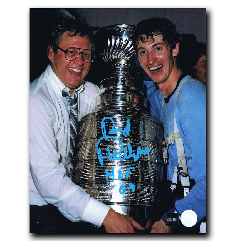 Rod Phillips Edmonton Oilers Autographed Stanley Cup 8x10 Photo CoJo Sport Collectables