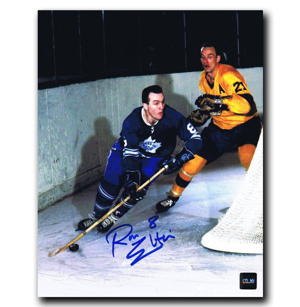 Ron Ellis Toronto Maple Leafs Autographed 8x10 Photo - CoJo Sport Collectables Inc.