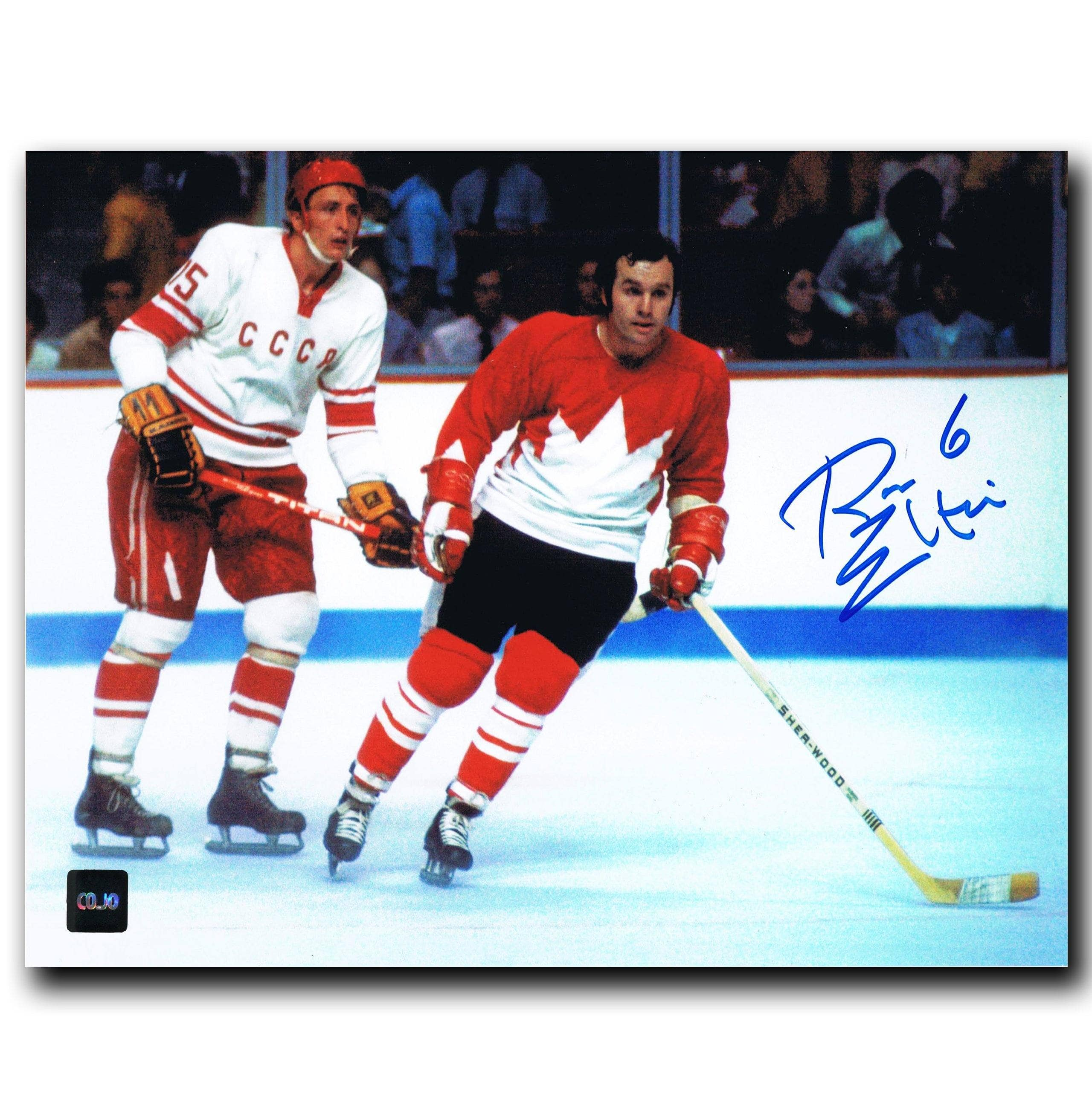 brand new dcd26 c13ee Ron Ellis Toronto Maple Leafs Autographed Team Canada 8x10 Photo - CoJo  Sport Collectables Inc.
