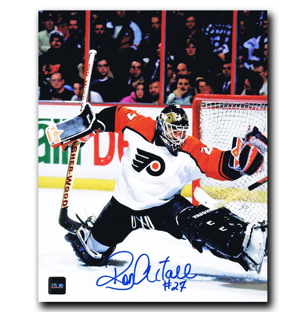Ron Hextall Philadelphia Flyers Autographed 8x10 Photo - CoJo Sport Collectables Inc.