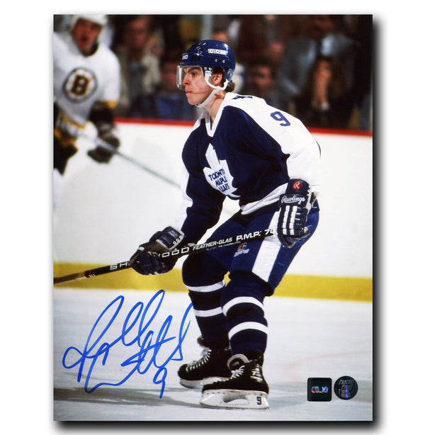 Russ Courtnall Toronto Maple Leafs Autographed 8x10 Photo - CoJo Sport Collectables Inc.