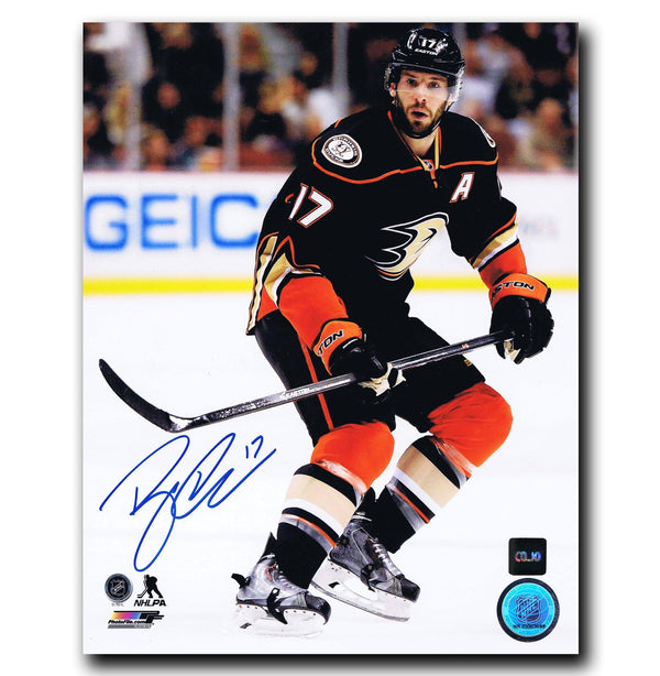 Ryan Kesler Anaheim Ducks Autographed 8x10 Photo - CoJo Sport Collectables Inc.