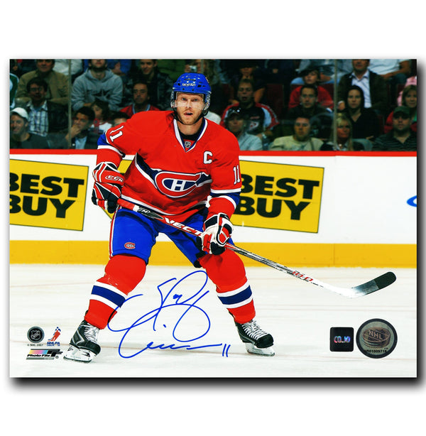 Saku Koivu Montreal Canadiens Autographed 8x10 Photo - CoJo Sport Collectables Inc.