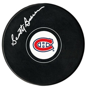 Scotty Bowman Autographed Montreal Canadiens Puck - CoJo Sport Collectables Inc.