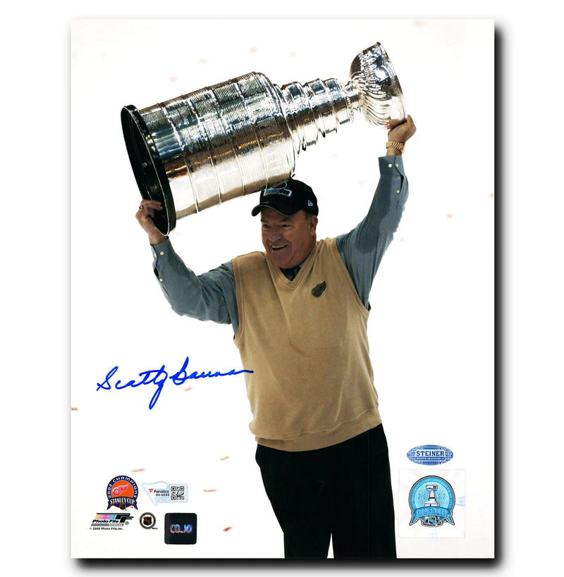 Scotty Bowman Detroit Red Wings Autographed 2002 Stanley Cup Champion 8x10 Photo CoJo Sport Collectables Inc.