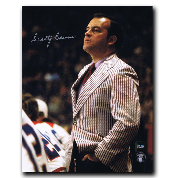 Scotty Bowman Detroit Red Wings Autographed Coach 8x10 Photo - CoJo Sport Collectables Inc.