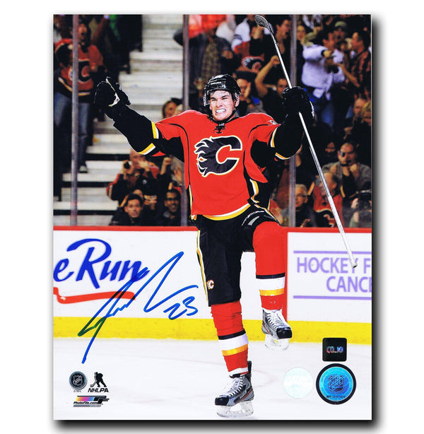 Sean Monahan Calgary Flames Autographed 8x10 Photo Autographed Hockey 8x10 Photos CoJo Sport Collectables