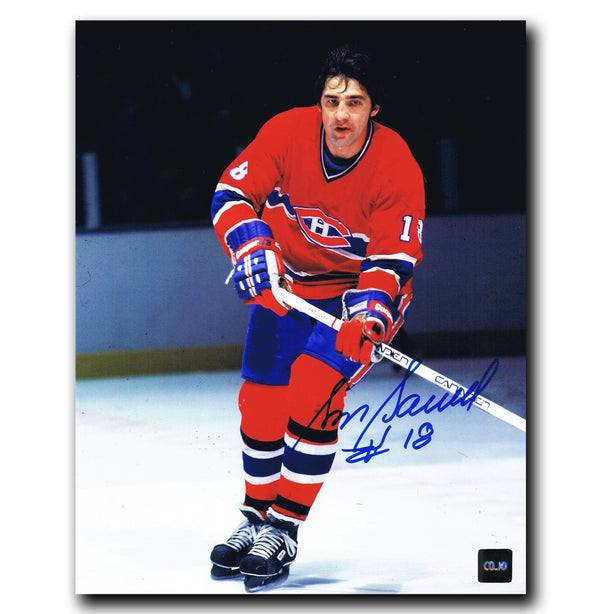 Serge Savard Montreal Canadiens Autographed 8x10 Photo Autographed Hockey 8x10 Photos CoJo Sport Collectables