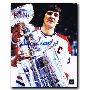 Serge Savard Montreal Canadiens Autographed 8x10 Stanley Cup Photo - CoJo Sport Collectables Inc.