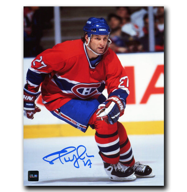 Shayne Corson Montreal Canadiens Autographed 8x10 Photo Autographed Hockey 8x10 Photos CoJo Sport Collectables