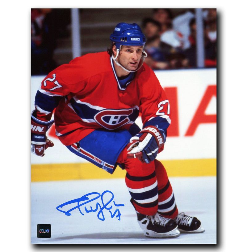 Shayne Corson Montreal Canadiens Autographed 8x10 Photo CoJo Sport Collectables Inc.