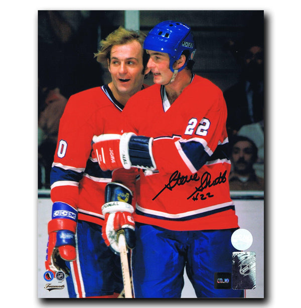Steve Shutt Montreal Canadiens Autographed 8x10 Photo Autographed Hockey 8x10 Photos CoJo Sport Collectables