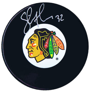 Steve Thomas Autographed Chicago Blackhawks Puck Autographed Hockey Pucks CoJo Sport Collectables
