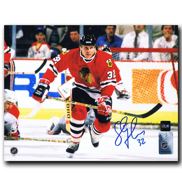 Steve Thomas Chicago Blackhawks Autographed 8x10 Photo Autographed Hockey 8x10 Photos CoJo Sport Collectables