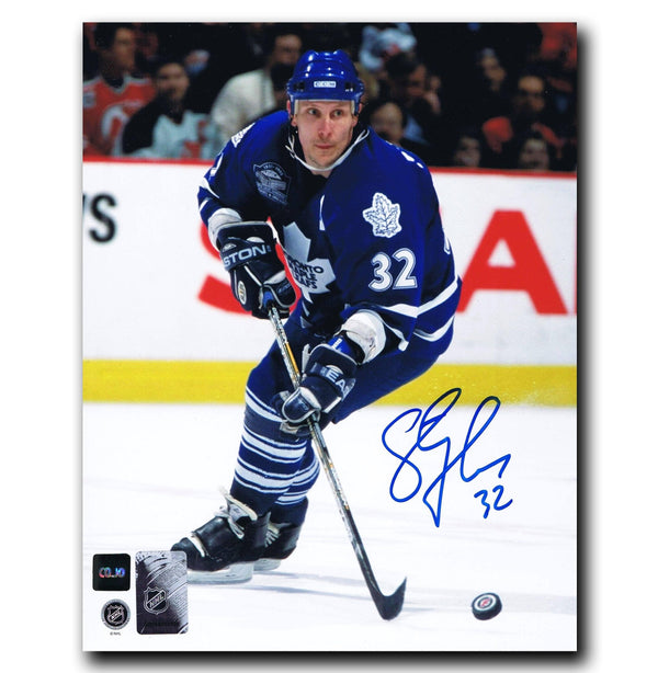 Steve Thomas Toronto Maple Leafs Autographed 8x10 Photo - CoJo Sport Collectables Inc.