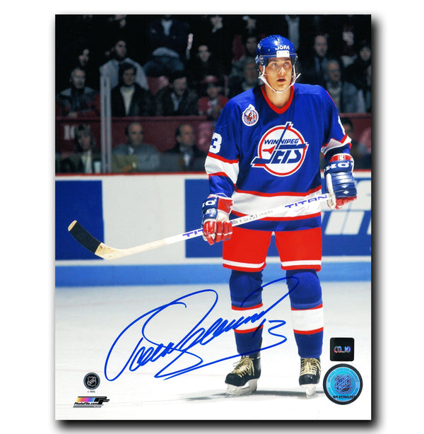 Teemu Selanne Winnipeg Jets Autographed 8x10 Photo - CoJo Sport Collectables Inc.