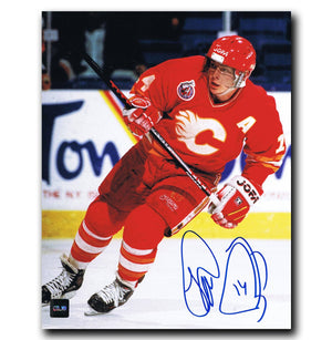 Theo Fleury Calgary Flames Autographed 8x10 Photo Autographed Hockey 8x10 Photos CoJo Sport Collectables
