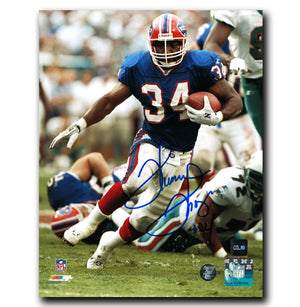 Thurman Thomas Buffalo Bills Autographed 8x10 Photo - CoJo Sport Collectables Inc.