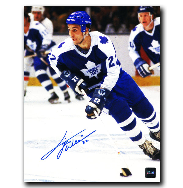 Tiger Williams Toronto Maple Leafs Autographed 8x10 Photo - CoJo Sport Collectables Inc.