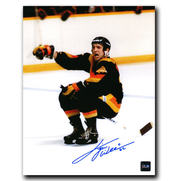 Tiger Williams Vancouver Canucks Autographed 8x10 Photo - CoJo Sport Collectables Inc.