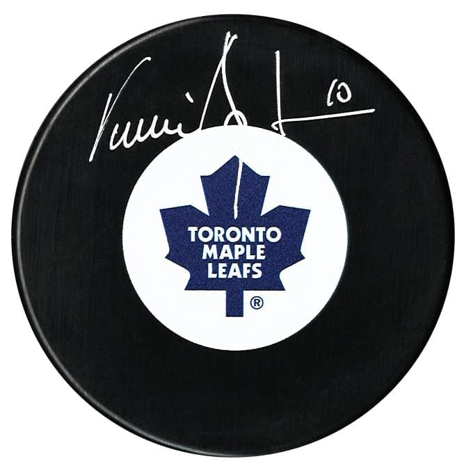 Vincent Damphousse Autographed Toronto Maple Leafs Puck CoJo Sport Collectables Inc.