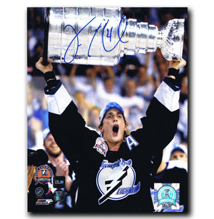 Vincent Lecavalier Tampa Bay Lightning Autographed 8x10 Stanley Cup Photo Autographed Hockey 8x10 Photos CoJo Sport Collectables
