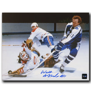 Walt McKechnie Toronto Maple Leafs Autographed 8x10 Photo