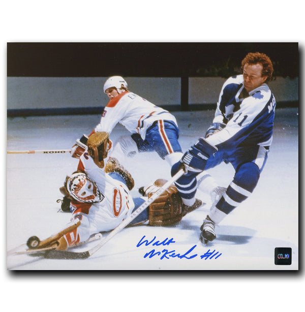 Walt McKechnie Toronto Maple Leafs Autographed 8x10 Photo - CoJo Sport Collectables Inc.