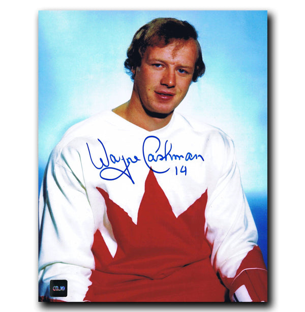 Wayne Cashman Team Canada Autographed 8x10 Photo Autographed Hockey 8x10 Photos CoJo Sport Collectables