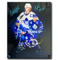 Wendel Clark Toronto Maple Leafs Autographed Limited Edition 16x20 Photo (CoJo Exclusive)