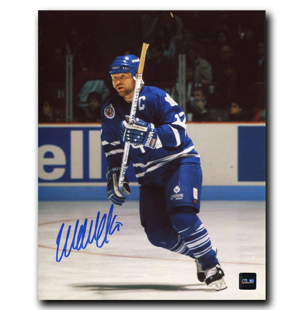 Wendel Clark Toronto Maple Leafs Autographed 8x10 Photo - CoJo Sport Collectables Inc.
